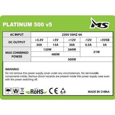 MS PLATINUM 500 v5